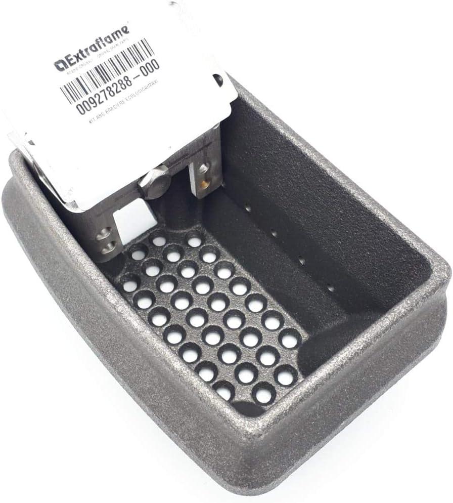 Crogiolo – Quemador – Estufa pellet Nordica Extraflame 009278288 con divisor y perno Comfort Maxi, ecológica, Comfort Idro