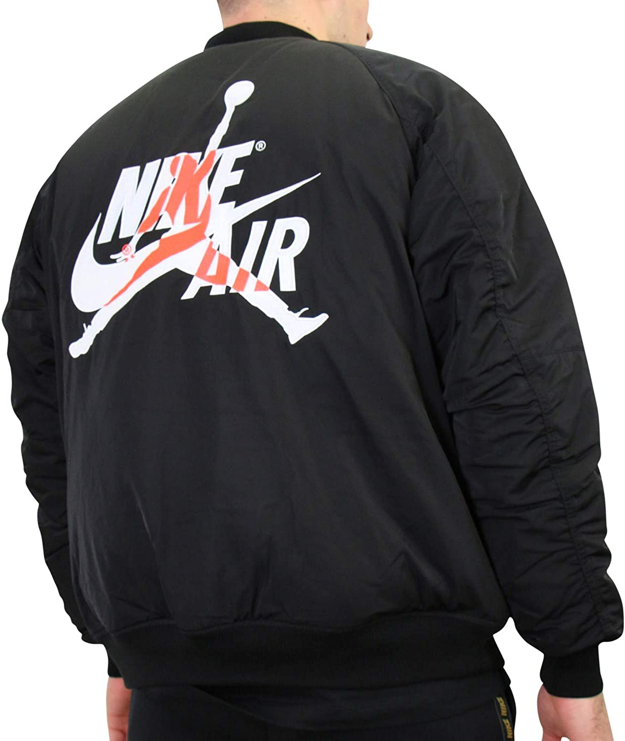 Pensar en el futuro malicioso fe  Jordan Wings MA-1 Jacket at Amazon Men's Clothing store