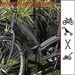 Master-Lock-8143EURDPRO-Lucchetto-Bici-Combinazione-12-m-Cavo-Esterno-Ottimo-per-Proteggere-Bicicletta-Skateboard-Passeggino-Falciatore-Attrezzature-Sportive-Nero