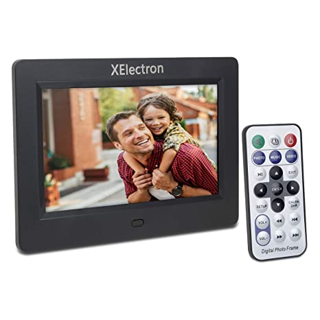 Buy XElectron 7 Inch Digital Photo Frame With Remote Black Online