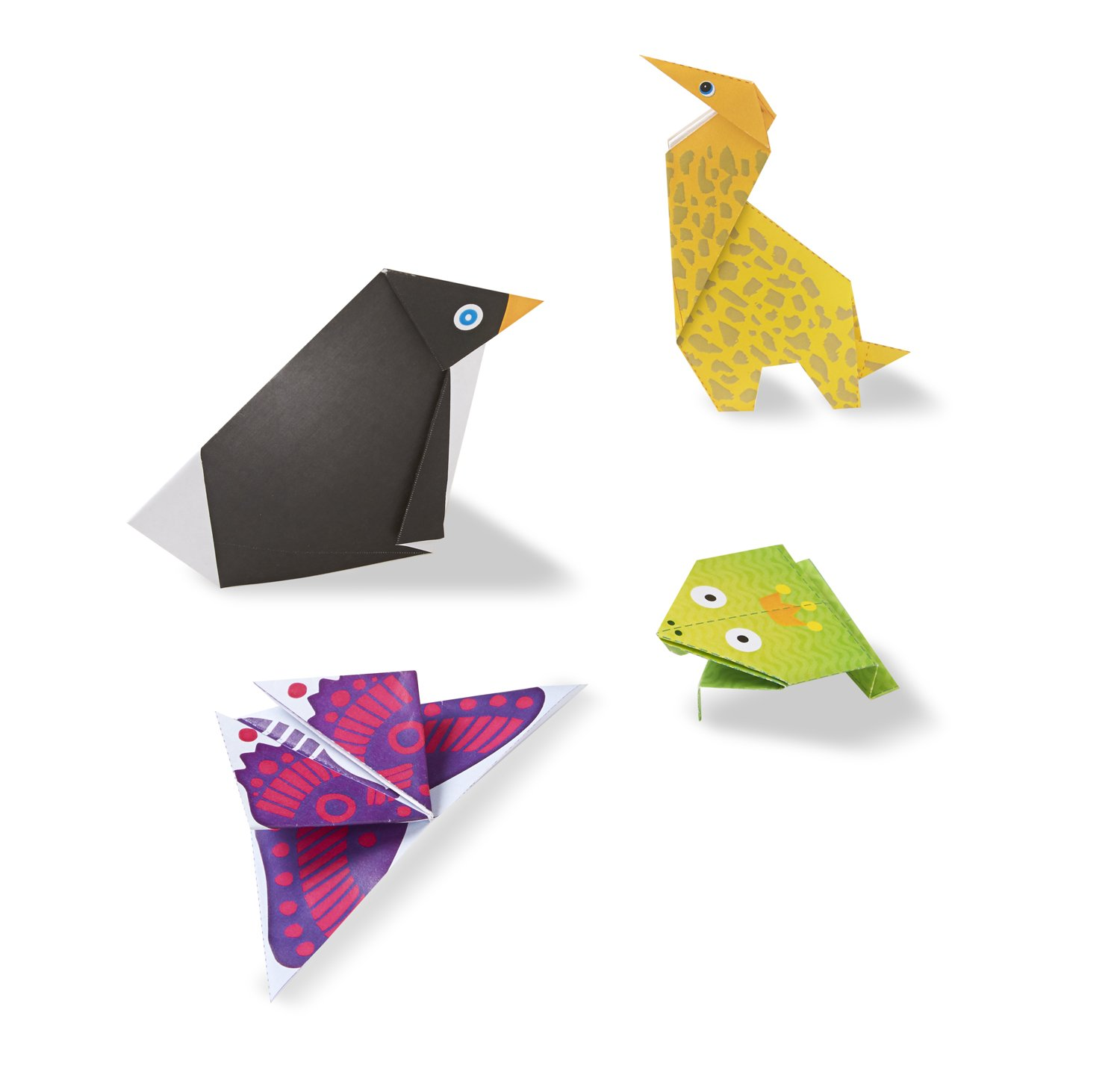 Amazon Melissa Doug On The Go Origami Animals Craft Activity