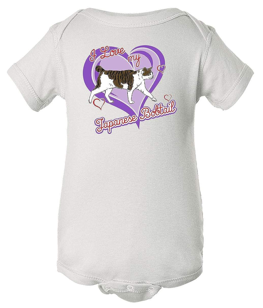 Tenacitee Babys Japanese Bobtail Cat Shirt