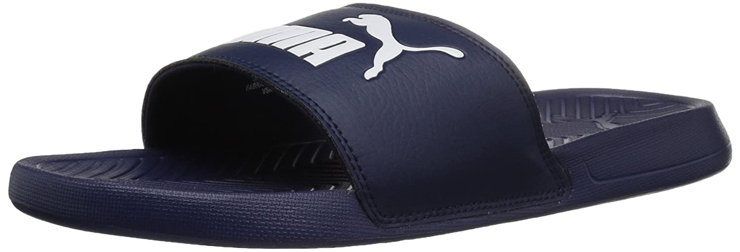 Puma Men s Synthetic Leather Slide Sandal - 12 M Us Men  Buy Online at Low  Prices in India - Amazon.in 51c9ebaed