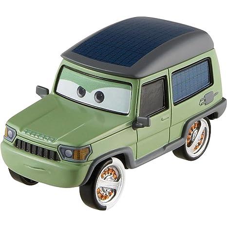 Disney Pixar CARS 2 Movie 155 Die Cast Car 17 Miles Axlerod By Mattel
