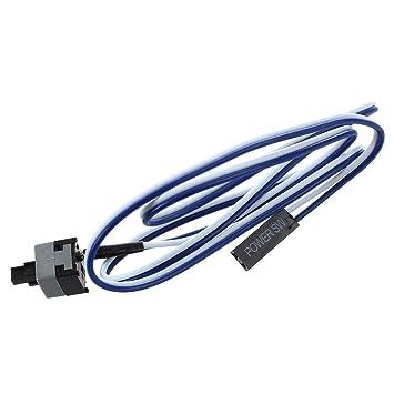 0b64dd9ece28 SODIAL(R) 20.5 quot  Long Bouton d interrupteur d alimentation par cable