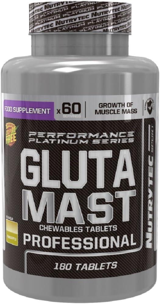 Nutrytec Glutamast Professional (Performance Platinum) 180 ...