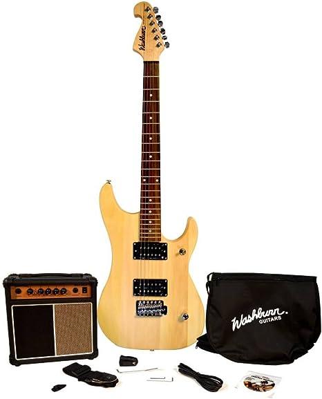 Washburn N1-VINTAGE - N1 vintage pack guitarra electrica: Amazon ...
