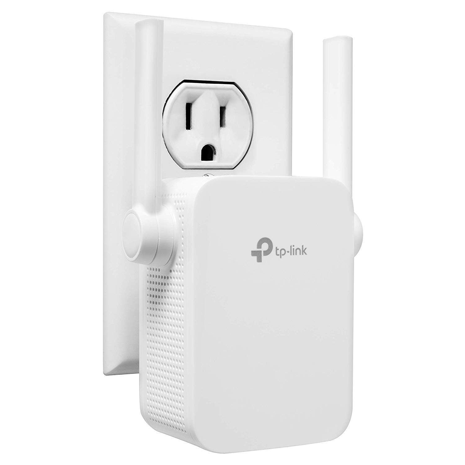 TP-Link N300 WiFi Range Extender with External Antennas and Compact Design (TL-WA855RE) (Renewed) by TP-Link