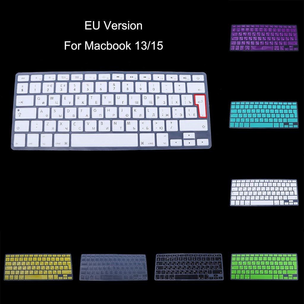 Coque en Silicone pour Clavier Russe Apple MacBook Air Pro 13 15