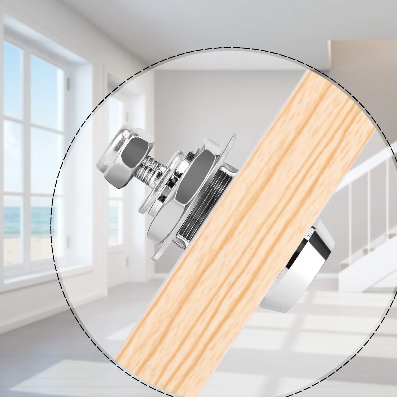 OCGIG Tubular Cam Lock Reemplazo Caja de herramientas Buz/ón RV Llave del coche Cerraduras iguales 17 mm