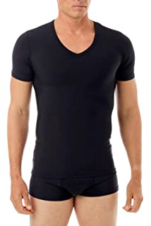 13a799bfd9 Underworks Mens Extreme Gynecomastia Chest Binder Girdle T-shirt ...