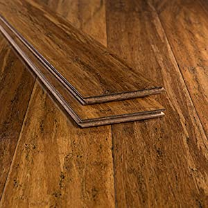 Bamboo flooring carbonized antiqued strand Carbonized strand bamboo flooring reviews