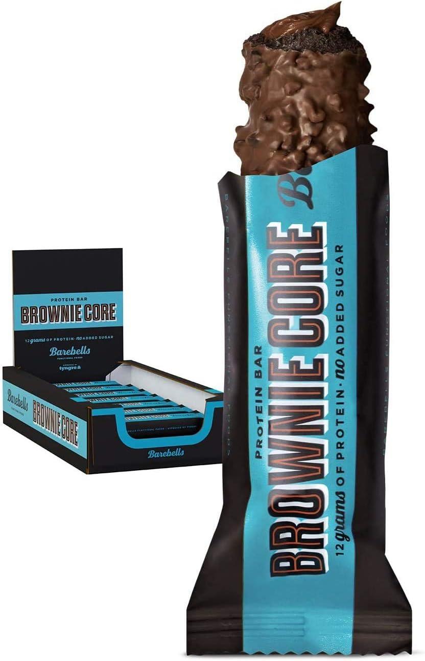 BAREBELLS Core Bar, 18 x 35 g Riegel (Brownie)