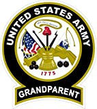 1 Pc Superb Fashionable United States Army Grandparent Sticker Signs Vinyl Proudly Door Size 4.5
