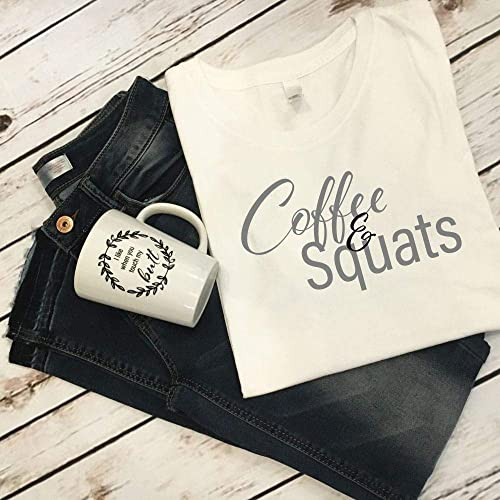 Amazon Coffee And Squats Tank Top Lover Or Shirt Gift Idea Workout Birthday Gear For