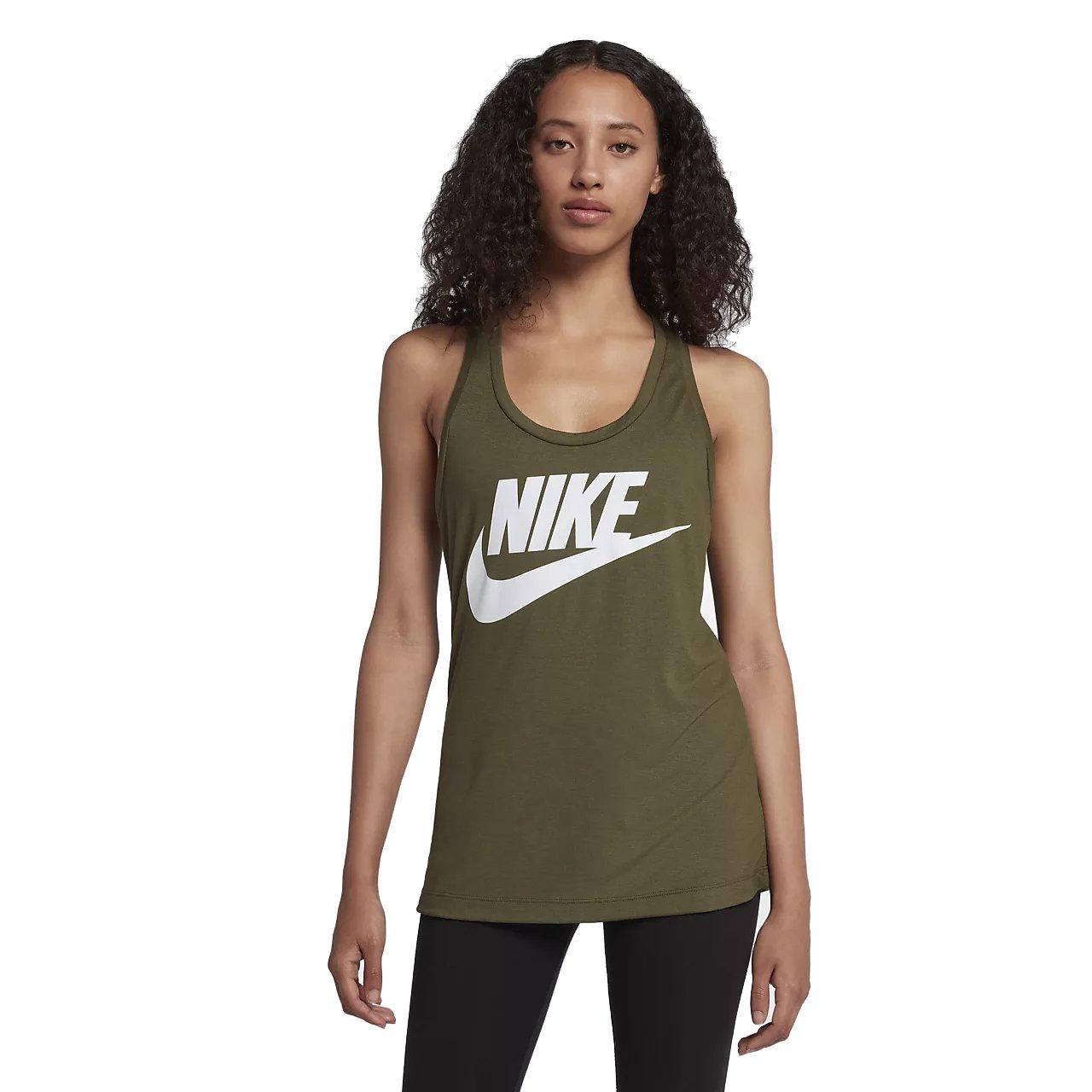 Nike Essential Hbr Camiseta de Tirantes, Mujer
