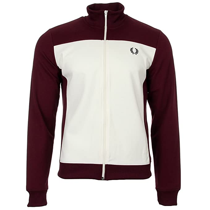 Fred Perry Embroidered Track Jacket, Chaqueta Deportiva