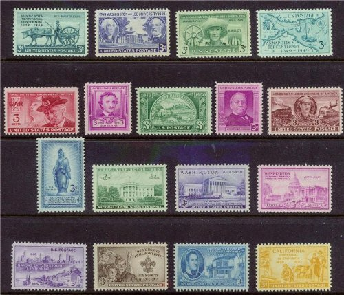 Postage Stamp Year Set - 7