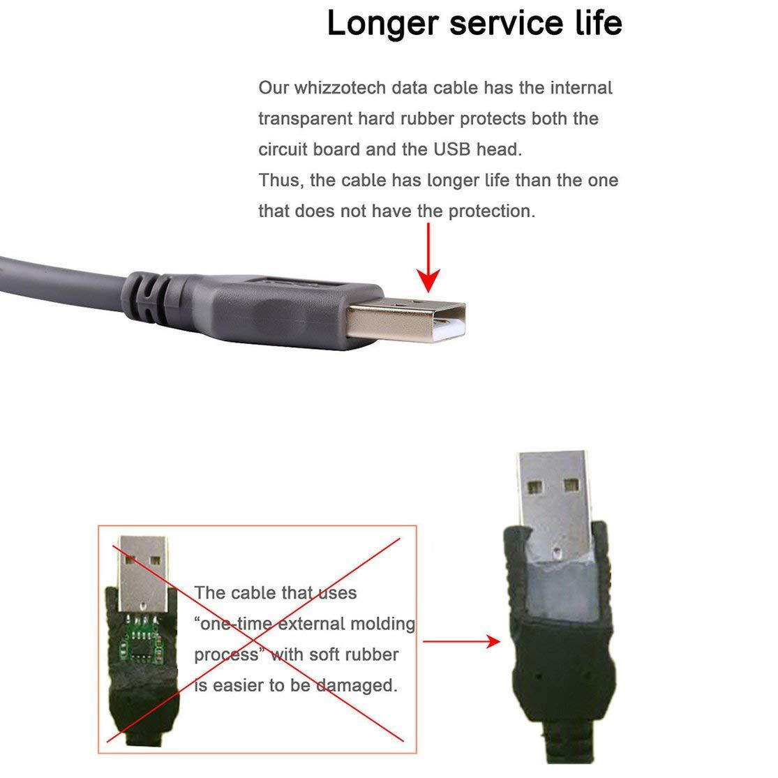 Color:Black Praktische High Smart Speed USB 2.0 A Stecker auf ...