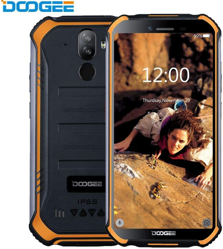 DOOGEE S40 4G Android 9.0 (2019) Sólido Móvil Libre Robusto ...