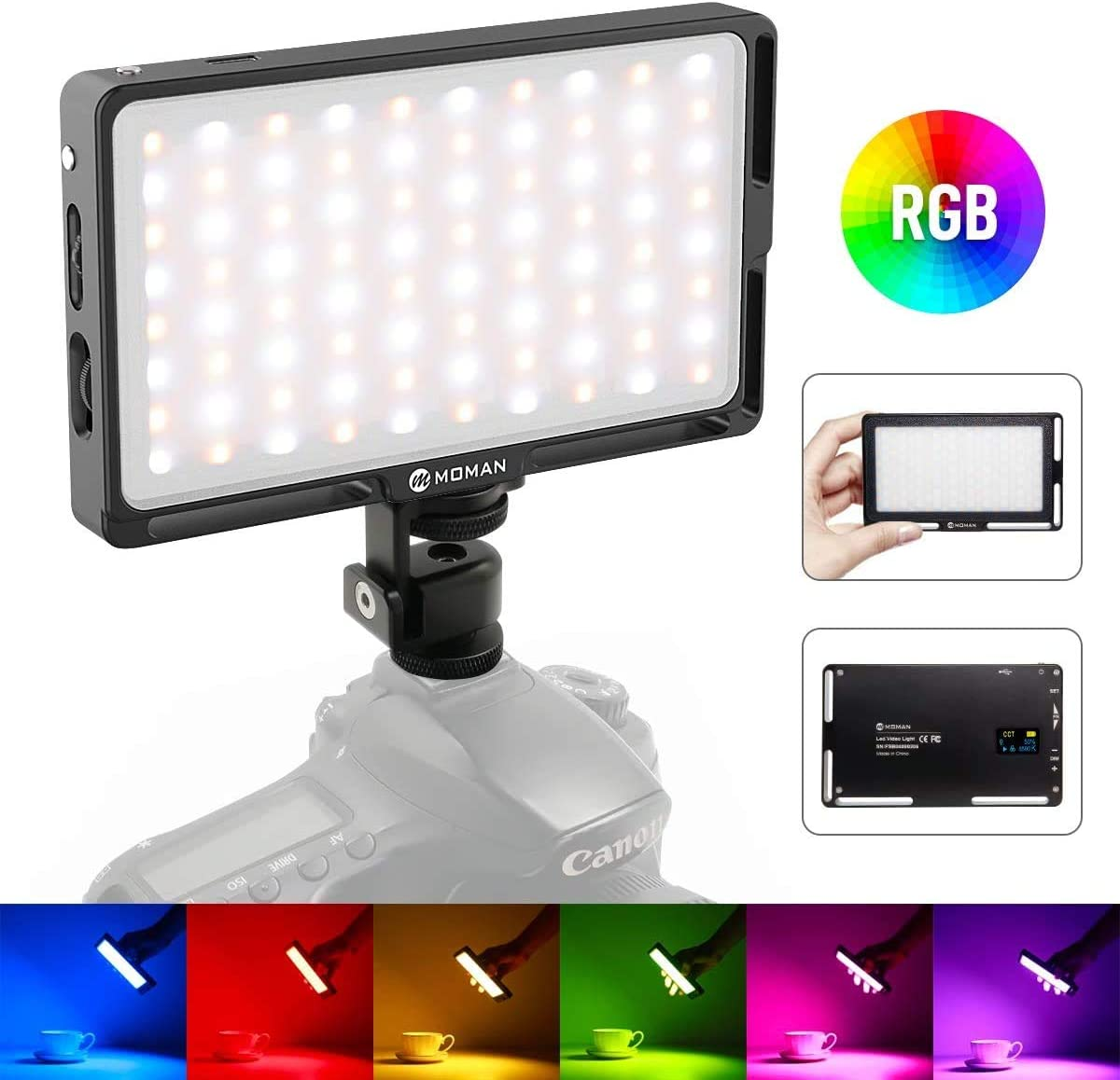 CellphoneMall LED Video Light ZF-2000 2 LED Video Light for Camera//Video Camcorder