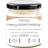 Jimmys Gourmet Kitchen (Salad Dressing Italian Creamy)(Avocado Oil Parsley Rosemary Chives Oregano)(Natural)(225g)