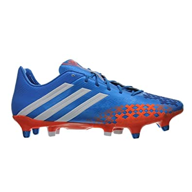 big sale c1453 0a890 adidas Predator LZ XTRX SG Football Boots Prime Blue Running White Orange -  size