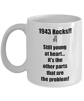 Happy 75th Birthday Mug 75 Year Old Born In Coffee Tea Cup Gift Ideas For Women Men