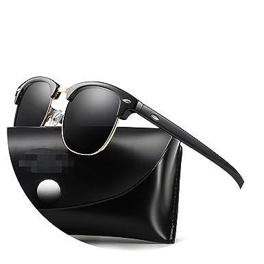 Amazon.com: Gafas de sol clásicas polarizadas para hombre y ...