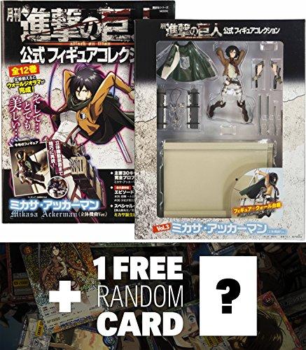 Attack on Titan Mikasa Ackerman Figure + Japanese