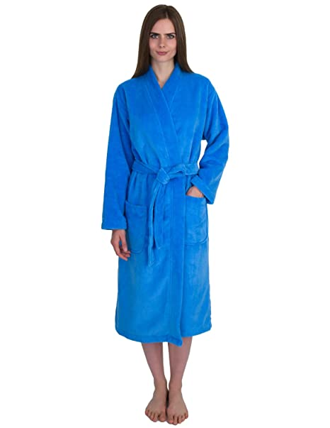 Amazon.com: towelselections polar bata, mujer algodón terry ...