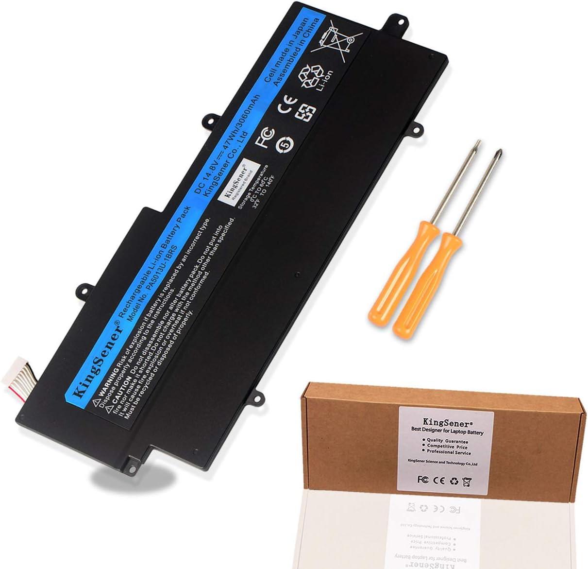 KingSener PA5013U-1BRS PA5013U Batería para portátil Toshiba Portege Z835 Z830 Z930 Z935 Ultrabook PA5013 14.8V 3060mAh