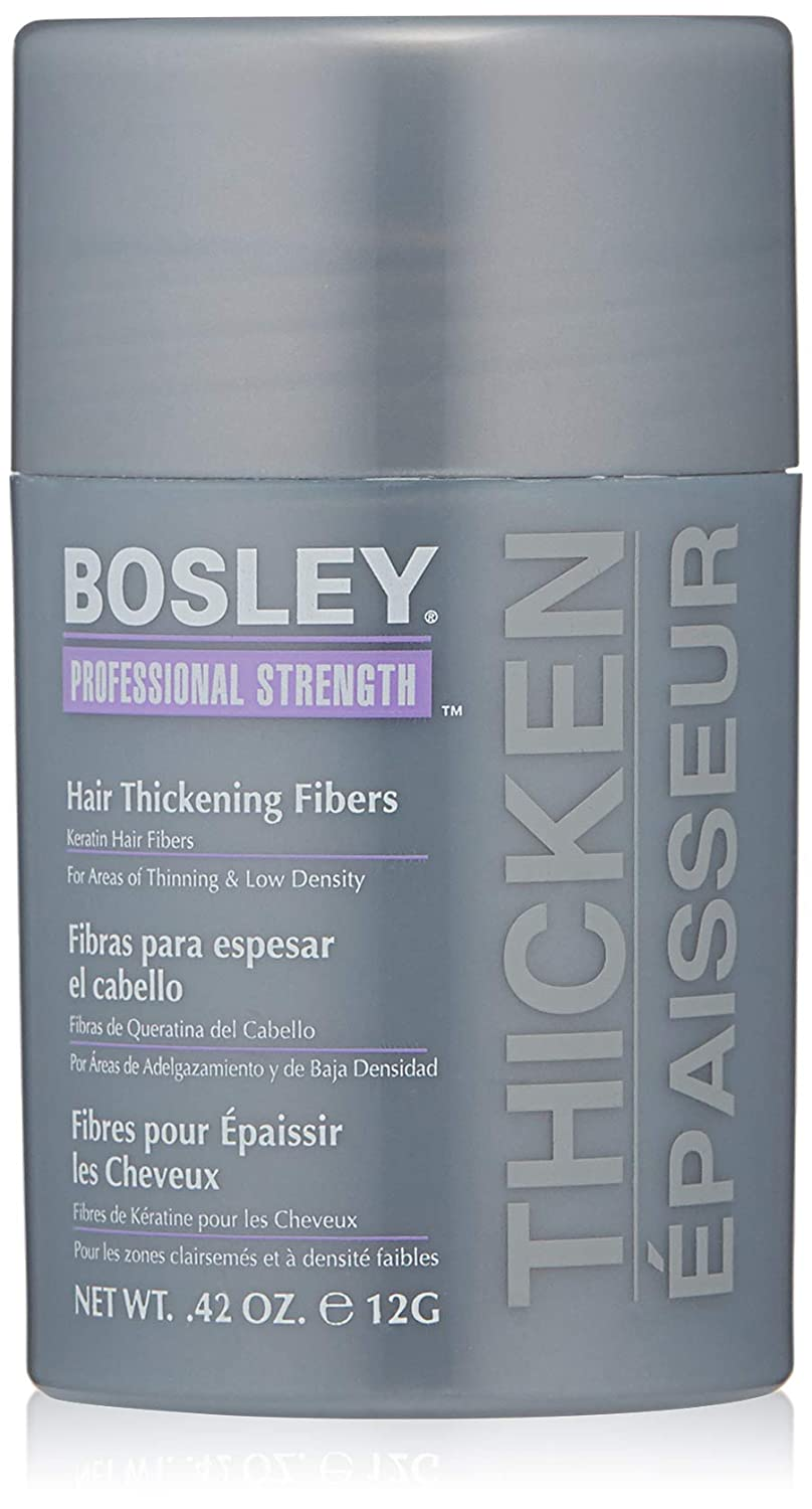 Bosley Professional Strength Hair Thickening Fibers - # Dark Brown 12g/0.42oz: Amazon.es: Belleza