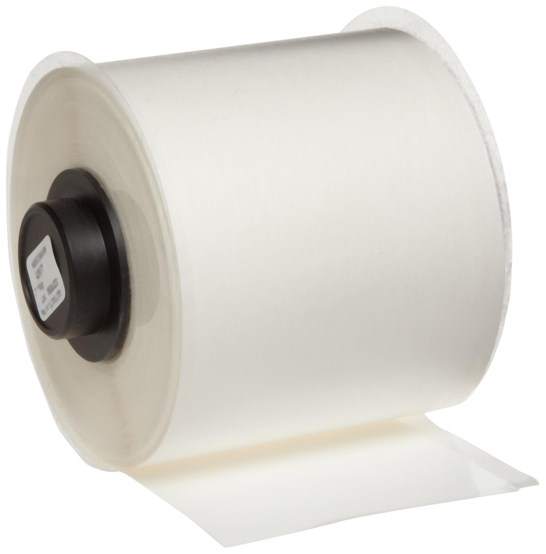 Brady HandiMark 50' Length 2'' Width, B-529 Economy Polypropylene White Color Tape