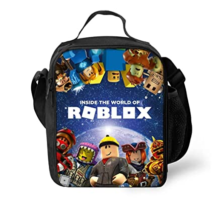 8a4d0298e463 Amazon.com: Unlimitedfy Roblox Lunch Box Lunch Bag Waterproof ...