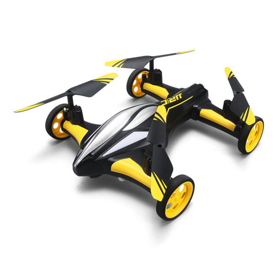 alto descuento RC Drone Amphibious RC Racing Car  RC Aircraft Aircraft Aircraft con Cámara Live Video 720 HD FPV Quadcopter con 3D Flip, Modo sin Cabeza, luz LED Electric RC Toys para Niños y Niñas-Azul, Amarillo  para mayoristas