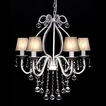 Lámpara de Araña de Techo con Cristales,Perfecto para Hall ...