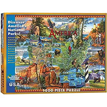 White Mountain Puzzles Flags Of The World 1000 Piece Jigsaw Puzzle Toys Games