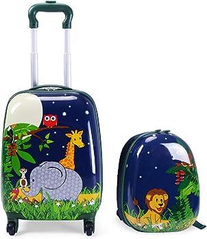 Goplus Comfortable Carry-On Kids Luggage
