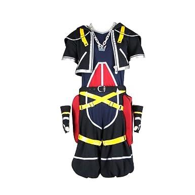 Sora Christmas Town Cosplay.Kingdom Hearts Cosplay Costume Sora 1st Original Colour Medium