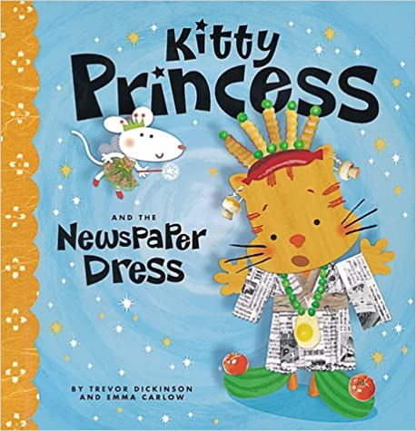 Book Kitty Princess And The Newspaper Dress