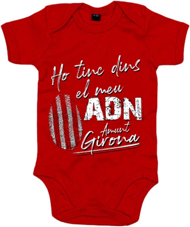 6-12 meses Body beb/é Ho tinc dincs el meu ADN Amunt Girona Negro