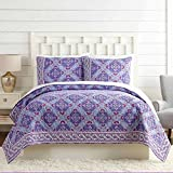 Vera Bradley A739A16PRNFE Purple Passion Quilt, KING
