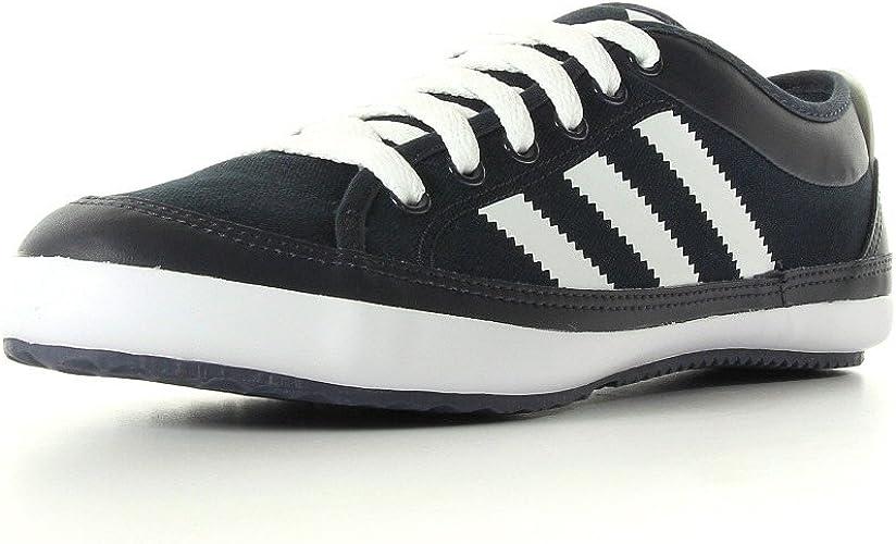 Grupo Propuesta Santuario  adidas Men's Nizza lo remo Trainers Black Black/White: Amazon.co.uk: Shoes  & Bags