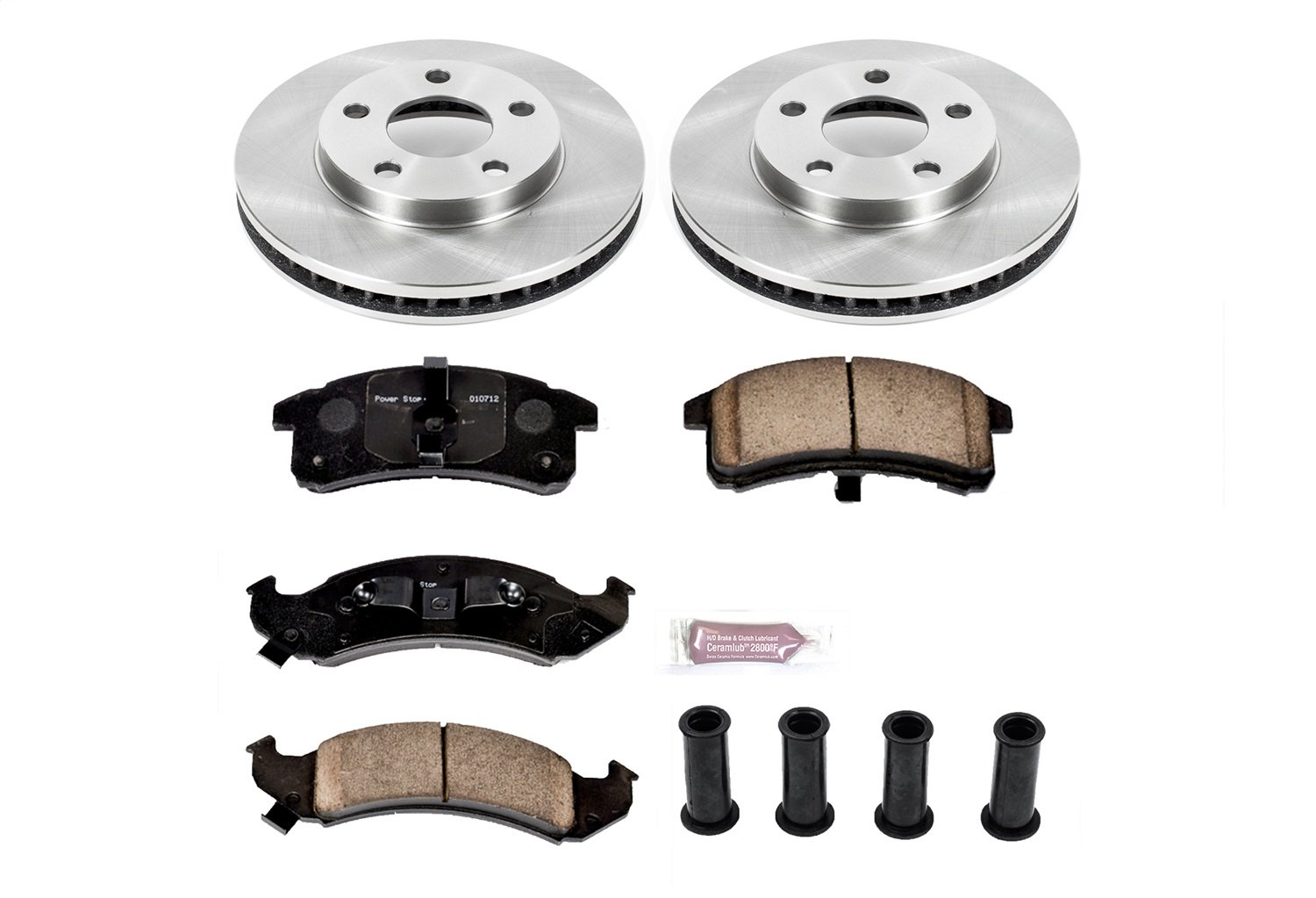 Autospecialty KOE1534 1-Click OE Replacement Brake Kit Power Stop