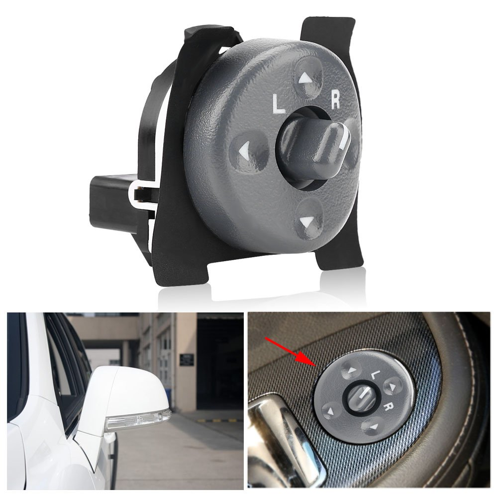 8 Pin Rear View Mirror Switch Remote Control Switch Power Mirror Switch Electric Power for Chevy GMC Tahoe Astro C//K