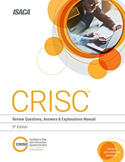 crisc certified in risk and information systems control all in one rh amazon com isaca crisc study guide