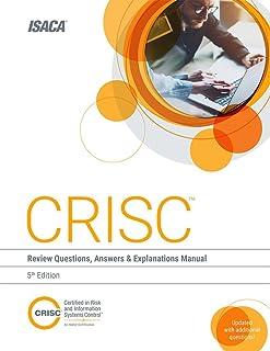 amazon com crisc review manual 6th edition 9781604203714 isaca rh amazon com crisc review manual 2015 by isaca CRISC Exam