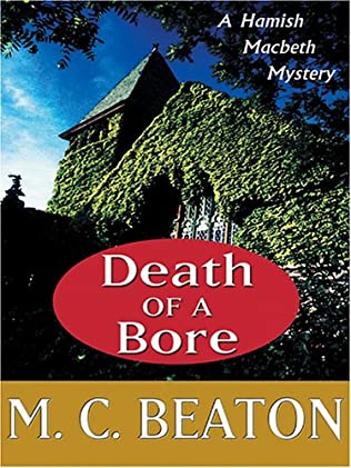 book cover of Death of a Bore