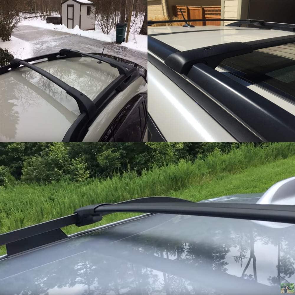 Hodenn Cross Bars Roof Rack Fit for 2014-2019 Subaru Forester//Crosstrek//Impreza with Side Rails